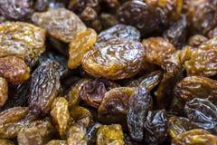 Dried raisins close up Royalty Free Stock Image