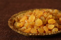 Dried raisins Stock Images