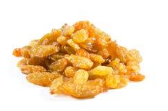 Dried raisins isolated on white background Stock Image