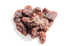 Dried raisins royalty free stock images