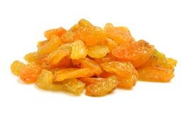 Dried raisins on white background Stock Photos