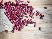 Dried red beans Royalty Free Stock Photo