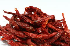 Dried Red Chili Stock Photography