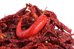 Dried Red Chilli and Red Chilli Stock Photos