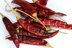 Dried red chilli Royalty Free Stock Photography