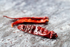 Dried Red Chilly Stock Photo