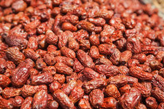 Dried red date Stock Photo