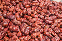 Dried red date Royalty Free Stock Images