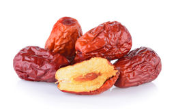 Dried red date or Chinese jujub Royalty Free Stock Photography