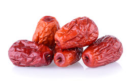 Dried red date or Chinese jujube Stock Photos