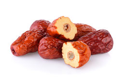 Dried red date or Chinese jujube Stock Photography
