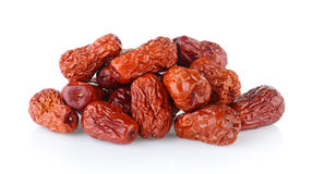 Dried red date or Chinese jujube Stock Images
