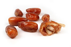 Dried red date isolated Stock Photography
