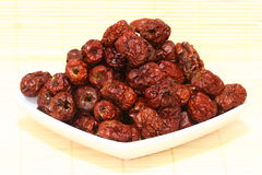 Dried Red Dates Royalty Free Stock Photo