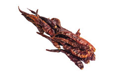 Dried red hot chili pepper. S Stock Photo