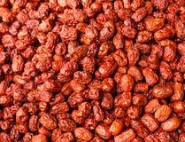 Dried red jujube stock photo