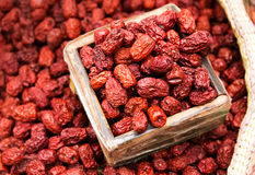 Dried red jujube royalty free stock images