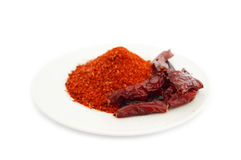 Dried red pepper Stock Image