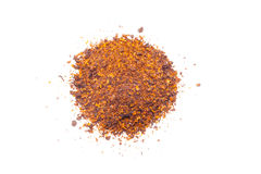 Dried red pepper flakes Royalty Free Stock Photo