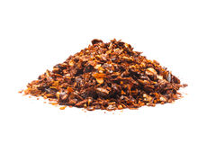 Dried red pepper flakes Stock Photos