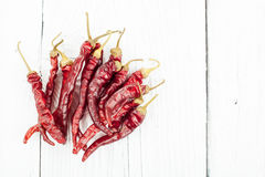 Dried red pepper Stock Photography