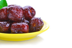 Dried red plum Royalty Free Stock Photography