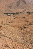 The dried river in the mountain in Morocco Royalty Free Stock Photo