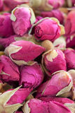 Dried rose. Flower heads for tea Royalty Free Stock Images