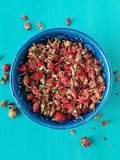 Dried rose buds Royalty Free Stock Photo