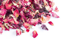 Dried rose petal pot-pourri Royalty Free Stock Photography