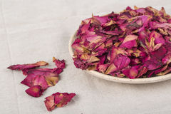 Dried rose petals Royalty Free Stock Image