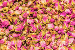 Dried rosebuds on sale in bazaar of Istanbul Royalty Free Stock Photo