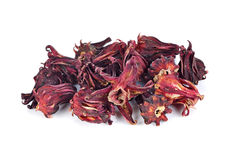 Dried roselle fruits Stock Images