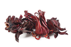 Dried roselle Stock Photos