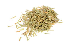 Dried Rosemary Isolated on White Background Stock Photos