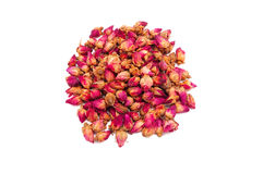 Dried roses. Some pretty dry rose buds stock photo