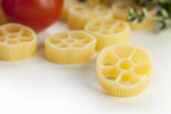 Dried Rotelle Pasta Stock Photography
