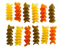 Dried Rotini Royalty Free Stock Photos