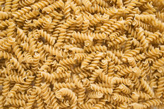 Dried Rotini Pasta Royalty Free Stock Photo
