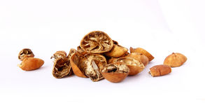 Dried Rotten Limes Royalty Free Stock Photography