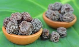 Dried Sakura plum Stock Photo