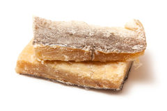 Dried Salt Cod, Isolated. Royalty Free Stock Photos