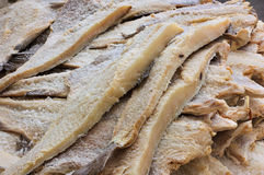 Dried salted cod Stock Photography