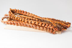 Dried salted fish Stock Images