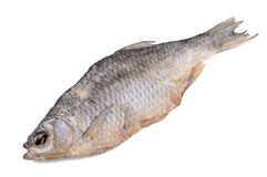 Dried salted fish Stock Image