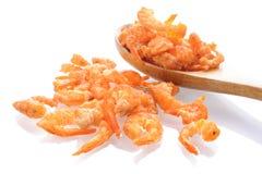 Dried salted prawn Royalty Free Stock Photos