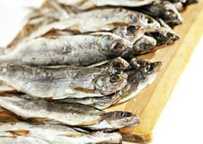 Dried saltfish Royalty Free Stock Photos