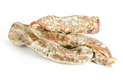 Dried sausage Stock Photos