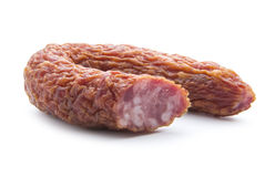 Dried sausage Stock Images