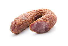 Dried sausage Royalty Free Stock Photography
